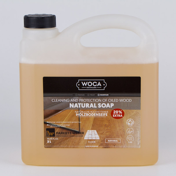 Woca Holzbodenseife natur - 3 Liter