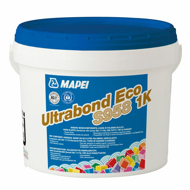 Mapei Ultrabond Eco S958 Parkettklebstoff hart-elastisch 15 kg