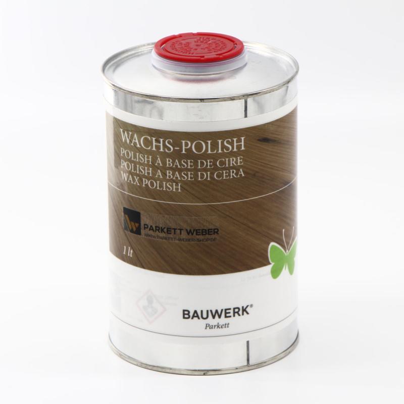 bauwerk wachs polish pflege f r versiegeltes parkett 40 50. Black Bedroom Furniture Sets. Home Design Ideas